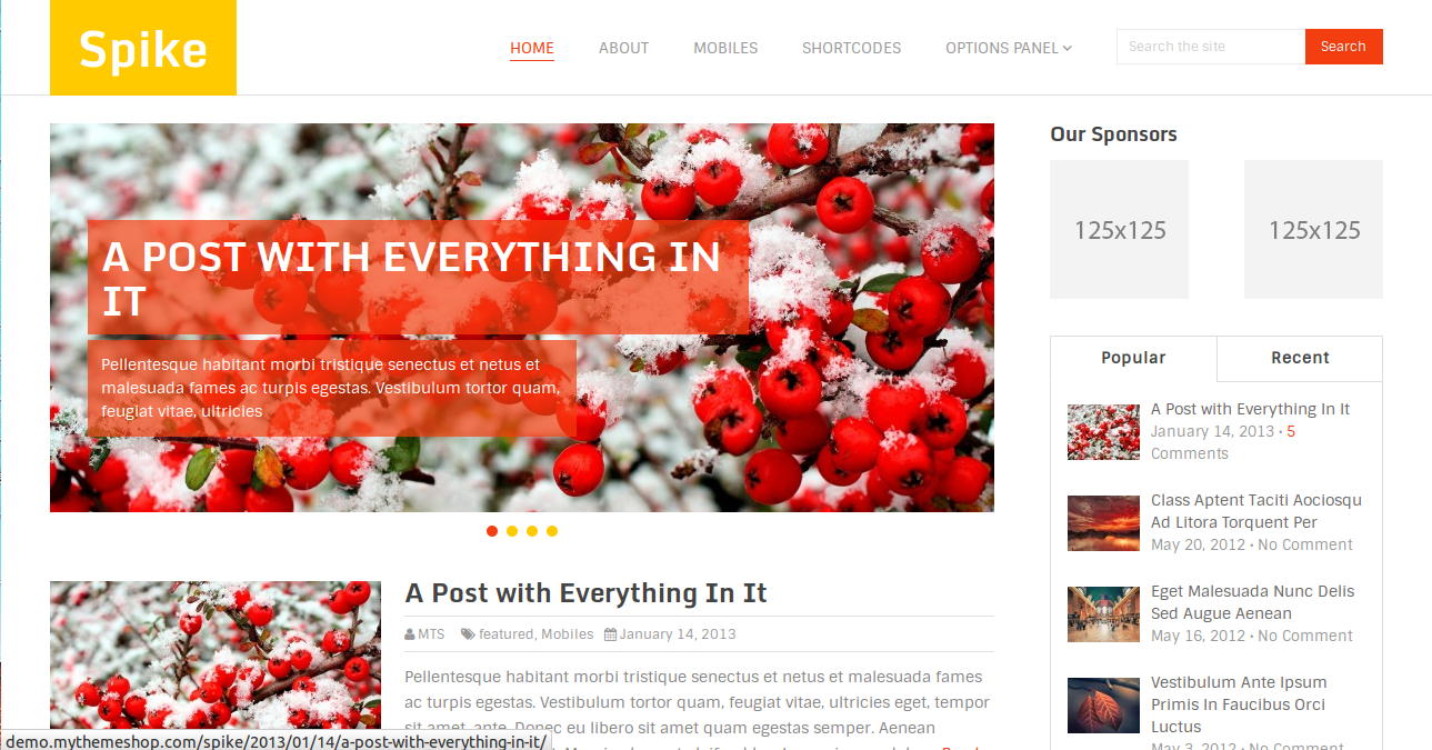 Screenshot from 2014 04 16 202035 Spike : Best Responsive Template For Every Blogger
