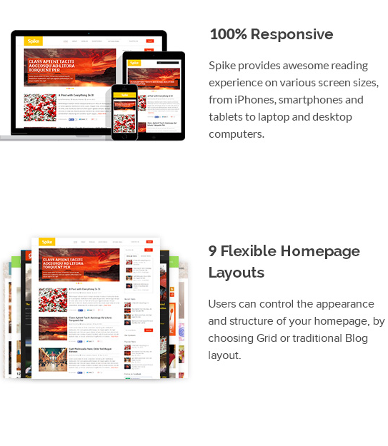 Screenshot from 2014 04 16 2031511 Spike : Best Responsive Template For Every Blogger