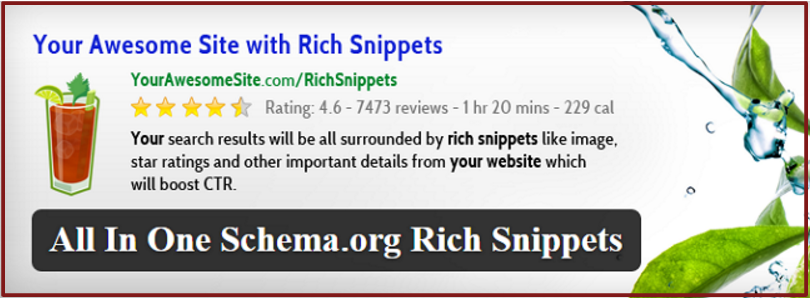 Google rich snippets plugin