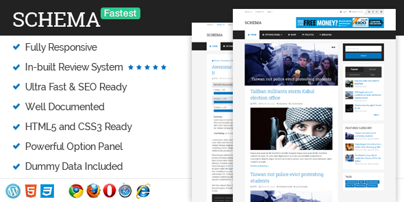 latest seo friendly WordPress Themes For Blogs