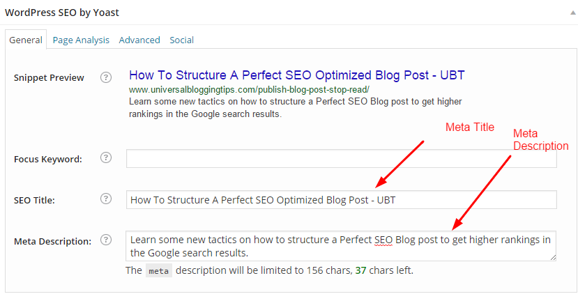 SEO Optimized Blog Post