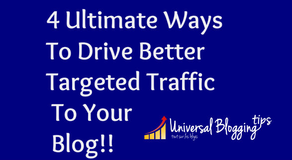 drive targeted audience to blog