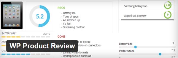 free review plugin for WordPress
