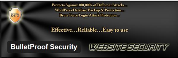 Free WordPress security plugin
