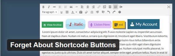 how to add CSS buttons in posts