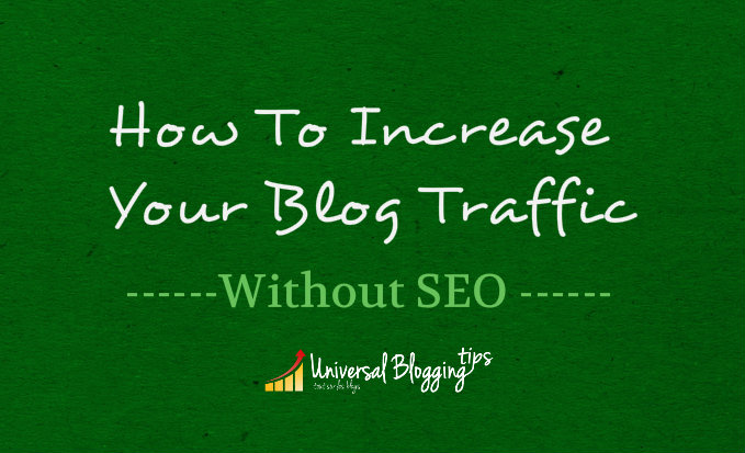 How to increase traffic to my blog