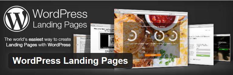 free landing page WordPress plugin