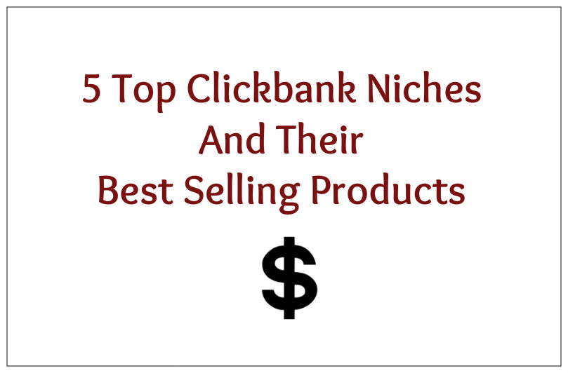 profitable clickbank niches and products