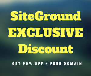 siteground exclusive discount