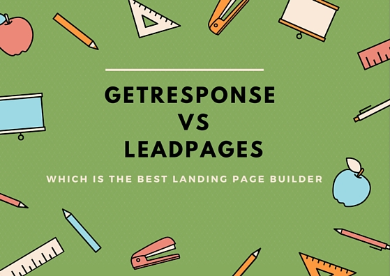 An Unbiased View of Getresponse Vs Leadpages