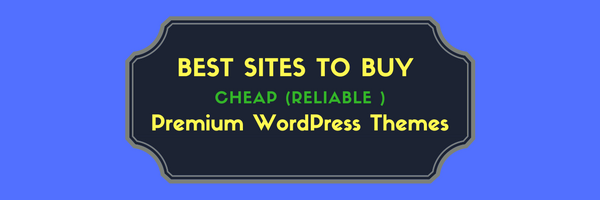 best sites to buy affordable WordPress Themes