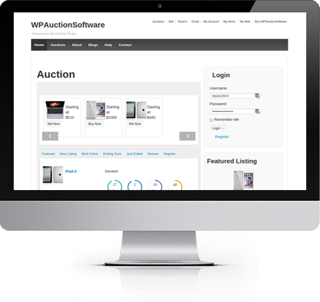 wordpress-auction-software