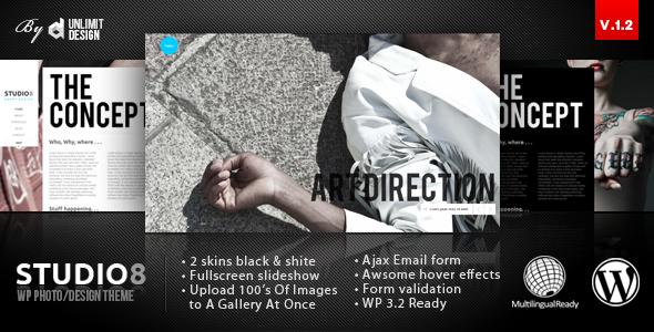 studio8 corporate WordPress theme