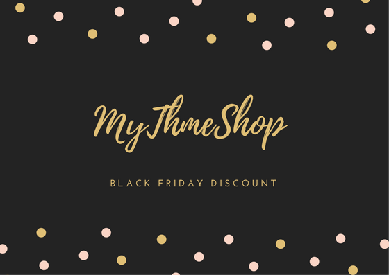 Cyber Monday Black Friday WordPress themes discount