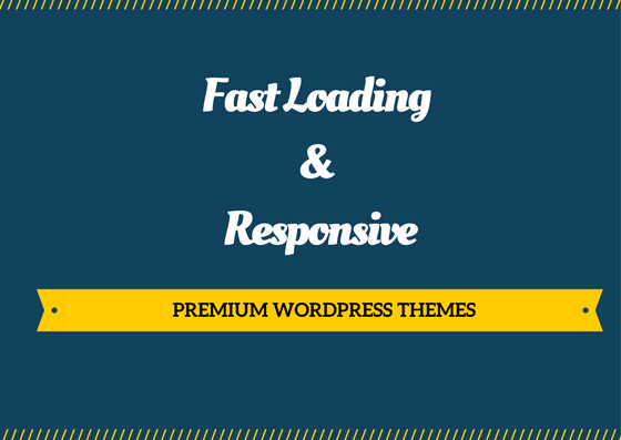 WordPress themes with low page load time