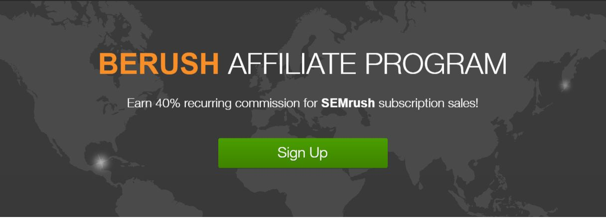 affiliate programs with big commission-semrush