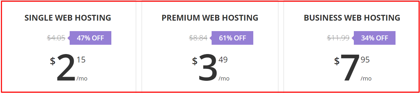 reliable and inexpensive web host