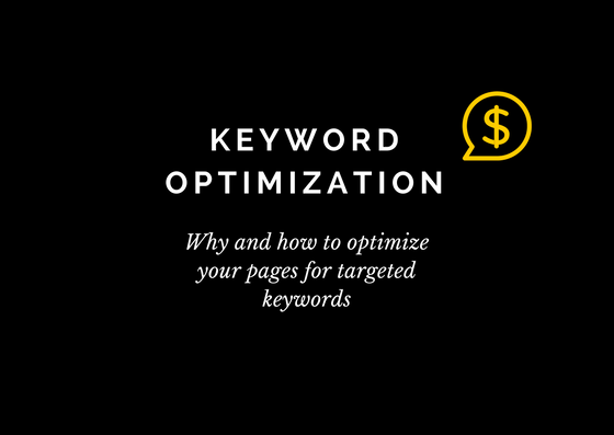 how to do keyword optimization
