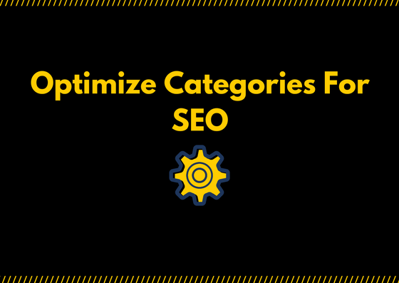 how to rank categories for SEO